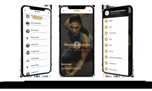 nuovo mondo fitness palestra camaiore viareggio versilia app cyber training